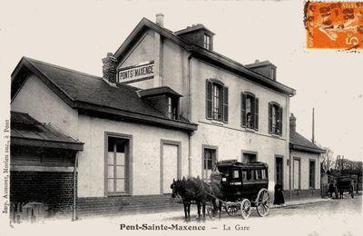 CP gare de Pont-Sainte-Maxence (Oise)