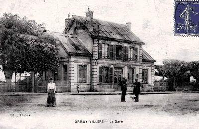 CP gare de Ormoy-Villers (Oise)