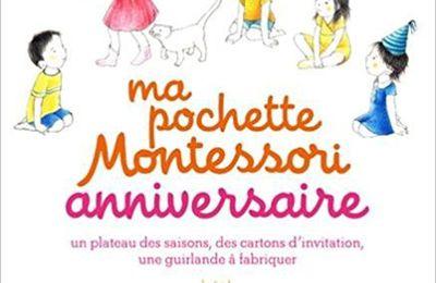 Ma pochette Montessori anniversaire
