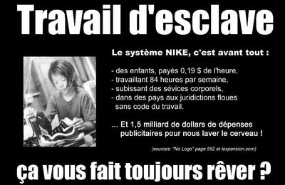 Dossier Nike : l'empire obscur...