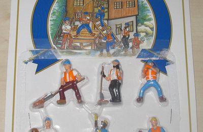 Pack de 6 figurines ouvriers 6180 échelle O Model Power
