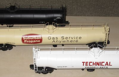 Les wagons citernes ACF 33,000 Gallon Tank Car ATLAS