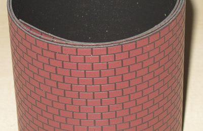 Habillage briques 90 x 11,9 cm échelle O Department 56