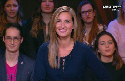 Marie Portolano 19H30 Sport Canal+ Sport le 02.12.2016
