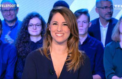 Charlotte Namura Téléfoot TF1 le 18.12.2016