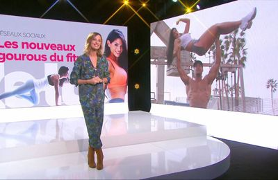 Isabelle Ithurburu Le Tube Canal+ le 07.01.2017