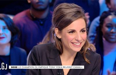 Alice Darfeuille Le Grand Journal Canal+ le 18.01.2017