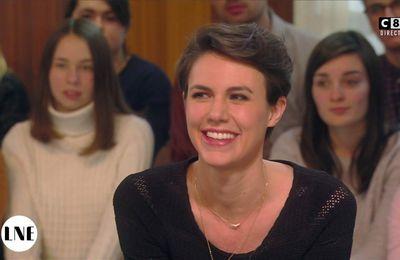 Emilie Besse La Nouvelle Edition C8 le 19.01.2017