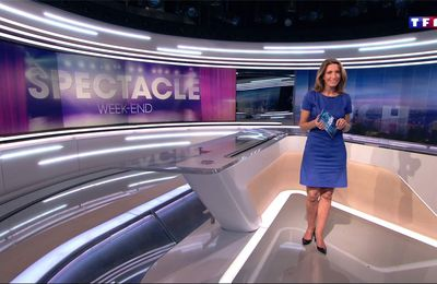 Anne-Claire Coudray JT 20H TF1 le 20.01.2017