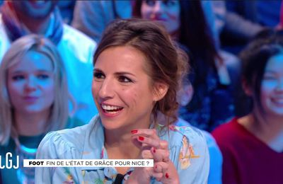 Alice Darfeuille Le Grand Journal Canal+ le 20.01.2017