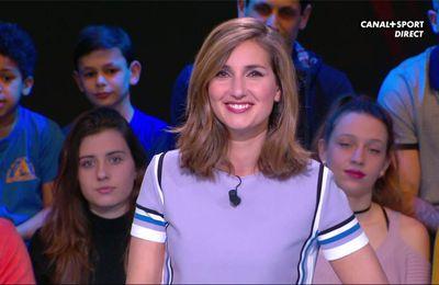 Marie Portolano 19H30 Sport Canal+Sport le 17.02.2017