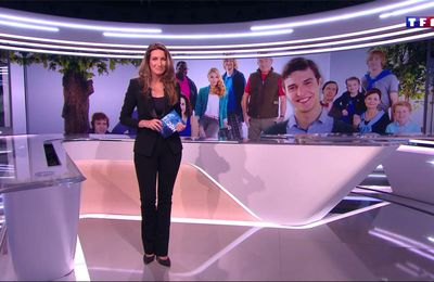 Anne-Claire Coudray JT 20H TF1 le 19.02.2017