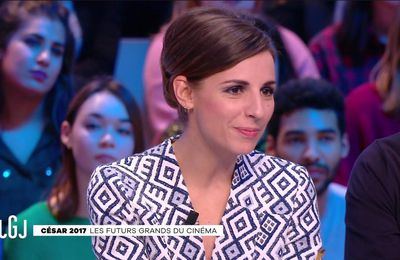 Alice Darfeuille Le Grand Journal Canal+ le 23.02.2017