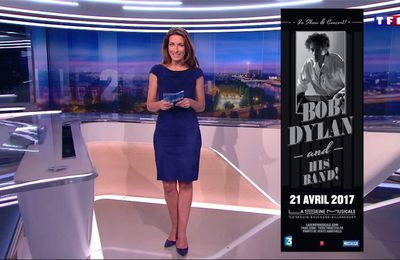 Anne-Claire Coudray JT 20H TF1 le 24.02.2017