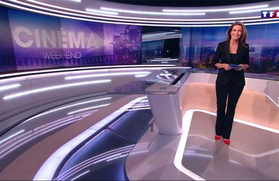 Anne-Claire Coudray JT 20H TF1 le 25.02.2017