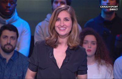 Marie Portolano 19H30 Foot Canal+Sport le 10.03.2017