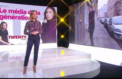 Isabelle Ithurburu Le Tube Canal+ le 11.03.2017