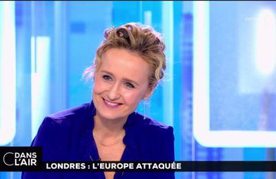 Caroline Roux C Dans l'Air France 5 le 23.03.2017