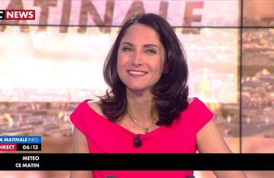 Clélie Mathias La Matinal Info Itélé le 30.03.2017