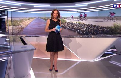Anne-Claire Coudray JT 20H TF1 le 13.05.2017