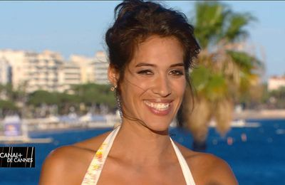 Laurie Cholewa Canal+ de Cannes Canal+ le 19.05.2017