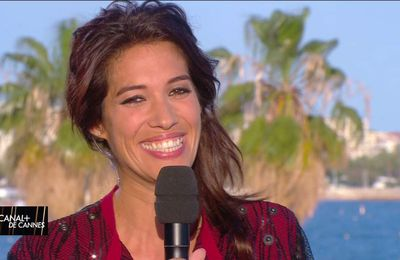 Laurie Cholewa Canal+ de Cannes Canal+ le 22.05.2017