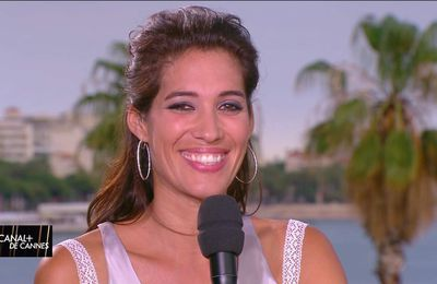 Laurie Cholewa Canal+ de Cannes Canal+ le 26.05.2017