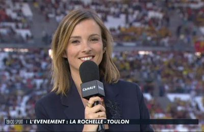 Isabelle Ithurburu Top 14 Canal+ le 26.05.2017