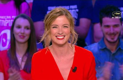 Isabelle Ithurburu Canal Rugby Club Canal+ le 28.05.2017