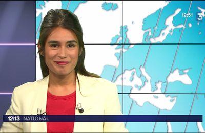 Emilie Tran Nguyen Le 12/13 France 3 le 29.05.2017