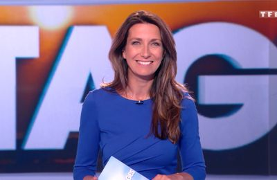 Anne-Claire Coudray JT 13H TF1 le 18.06.2017