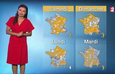 Anaïs Baydemir Météo France 2 le 22.06.2017