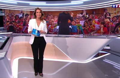 Anne-Claire Coudray JT 20H TF1 le 23.06.2017