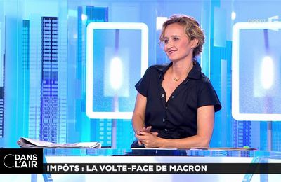 Caroline Roux C Dans l'Air France 5 le 10.07.2017