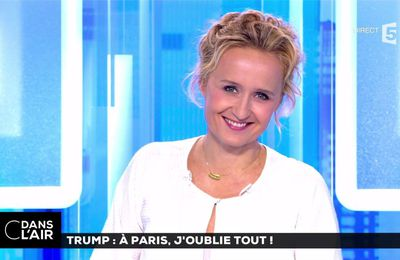 Caroline Roux C Dans l'Air France 5 le 13.07.2017