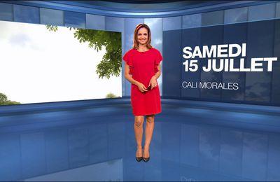 Cali Morales Météo M6 le 15.07.2017