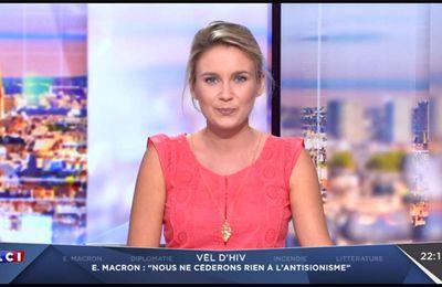 Hortense Villatte LCI Soir LCI le 16.07.2017