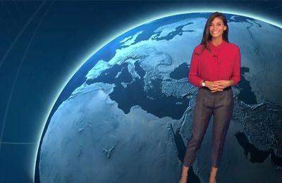 Tatiana Silva Météo TF1 le 24.07.2017