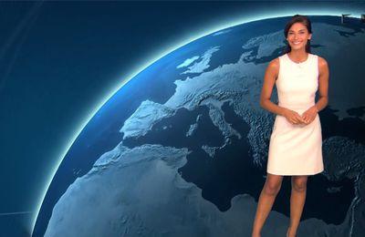 Tatiana Silva Météo TF1 le 25.07.2017