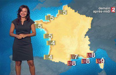 Anaïs Baydemir Météo France 2 le 17.08.2017