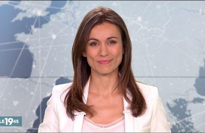 Marie-Ange Casalta Le 19:45 M6 le 19.08.2017