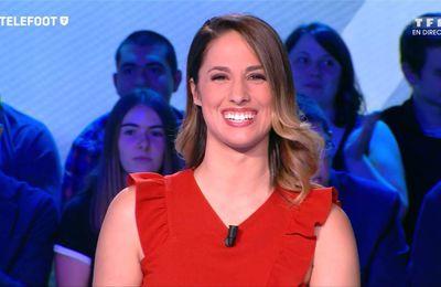 Charlotte Namura-Guizonne Téléfoot TF1 le 03.09.2017