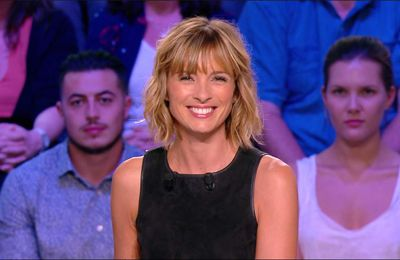 Isabelle Ithurburu Canal Rugby Club Canal+ le 10.09.2017