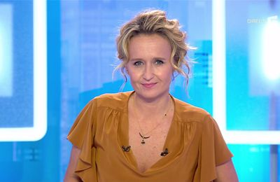 Caroline Roux C Dans l'Air France 5 le 12.09.2017