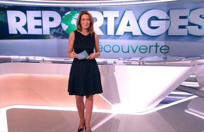 Anne-Claire Coudray JT 13H TF1 le 16.09.2017