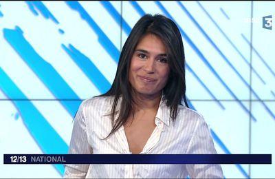 Emilie Tran Nguyen Le 12/13 France 3 le 18.09.2017