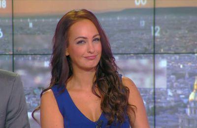 Alexandra Blanc Météo CNews le 22.09.2017