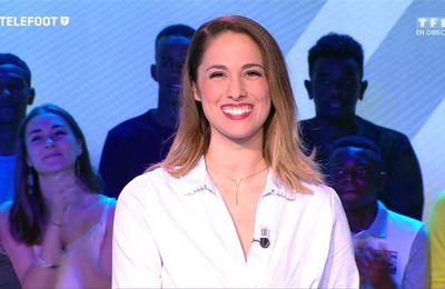 Charlotte Namura-Guizonne Téléfoot TF1 le 24.09.2017