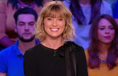 Isabelle Ithurburu Canal Rugby Club Canal+ le 24.09.2017
