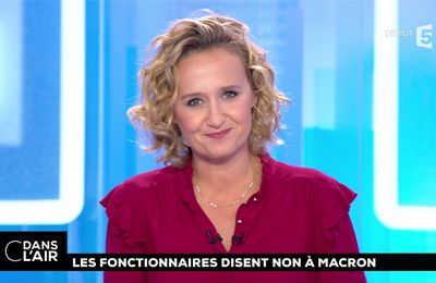 Caroline Roux C Dans l'Air France 5 le 09.10.2017